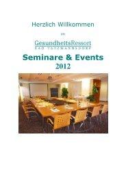 Seminarmappe - GesundheitsRessort