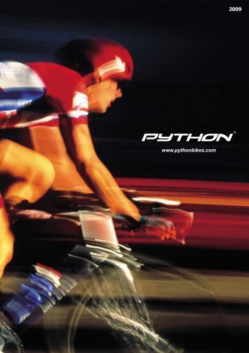 Python Branded Bicycles Are Guaranteed Against ... - python bikes
