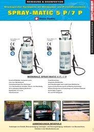 spray-matic 5 p/7 p