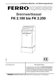 FK 2 - ferro wärmetechnik