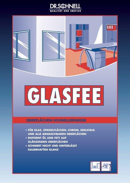 Dr. SCHNELL Glasreiniger Glasfee - MIT Sprühkopf 500 ml