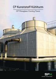 Marley CP Fiberglass Cooling Tower Marketing Information