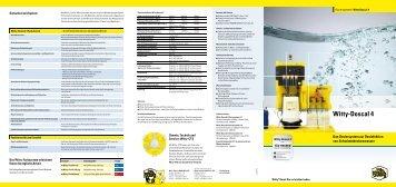 Witty-Doscal 4 - Witty Chemie GmbH & Co. KG