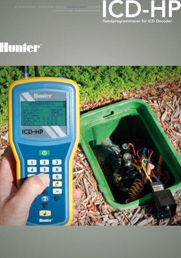 Handprogrammierer für ICD Decoder - Hunter Industries