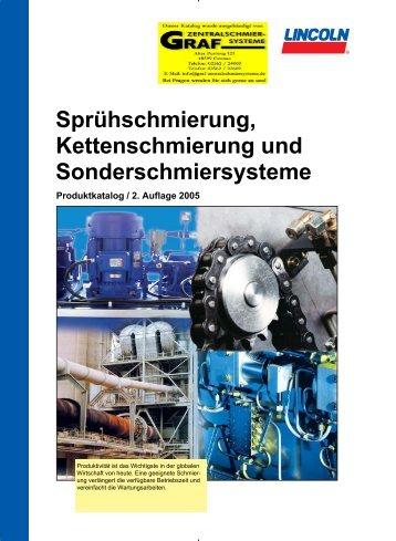 Kettenschmierung Sprüh - Graf Zentralschmiersysteme und ...
