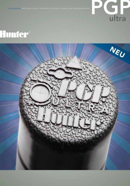 getrieberegner sprühdüsen ventile steuergeräte ... - Hunter Industries