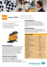 Scheuersaugmaschine Taski swingo 1255 B Power
