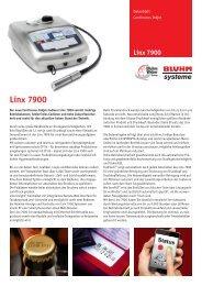 Linx 7900 - Bluhm Systeme GmbH