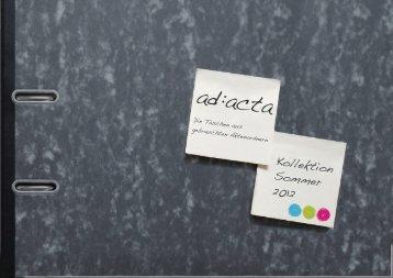 ad:acta - casitoo design