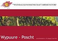 Preisliste 2012 - Weinbaugenossenschaft Birmenstorf