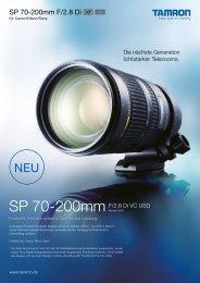 70-200mm Di F/2.8 VC USD - Tamron Europe