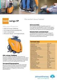 Scheuersaugmaschine Taski swingo XP