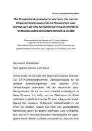 Zusammenfassung des Referats von Dr. Luzius ... - news.admin.ch