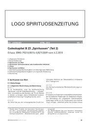 LOGO SPIRITUOSENZEITUNG - ernährung|nutrition