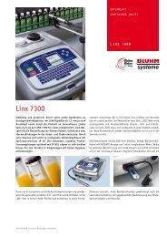 Linx 7300 - Bluhm Systeme GmbH