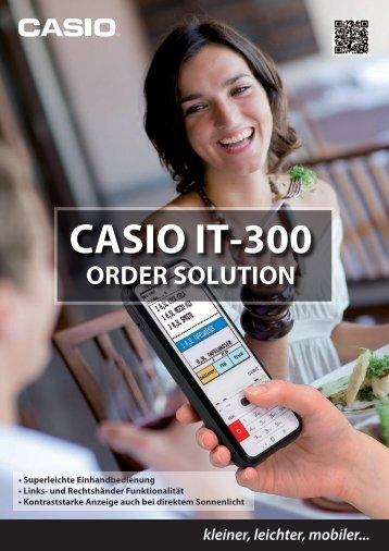 casio it-300 order solution - CASIO Europe