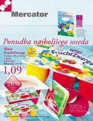 Ponudba najboljšega soseda - Mercator