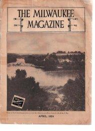 the milwaukee magazine - Milwaukee Road Archive