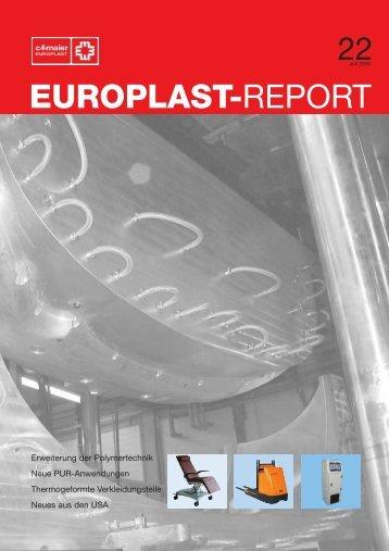 EUROPLAST-REPORT - CF Maier