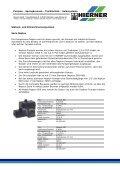 Produktübersicht Springbrunnenpumpen Pumpen ... - Hierner GmbH - Seite 3