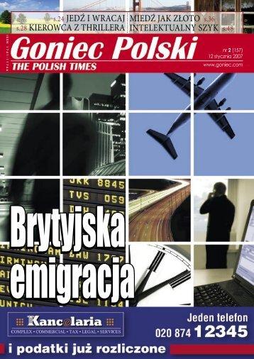 Konkurs - Goniec Polski