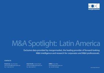 M&A Spotlight: Latin America - Mergermarket