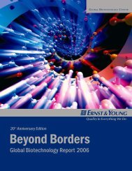 Excerpts from Two Decades of Biotech Reports - Home - Ernst ...