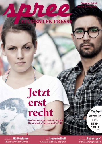 spree – Studenten Presse 5/2010 - STADTSTUDENTEN Berlin