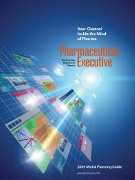 Layout 1 (Page 8 - 9) - Pharmaceutical Executive