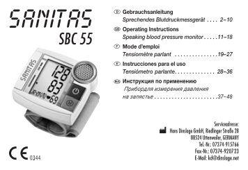 SBC 55 - Sanitas