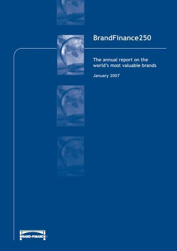 BrandFinance250 The annual report on the world's most valuable ...