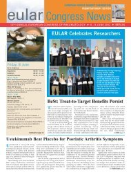 Eular 2012 issue3.qxp - EULAR Congress News 2012 Preview Edition