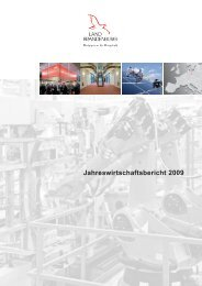 Jahreswirtschaftsbericht 2009 - Ministerium für Wirtschaft und ...