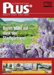 Diese Ausgabe als PDF speichern - Zu den Bezirkszeitungen