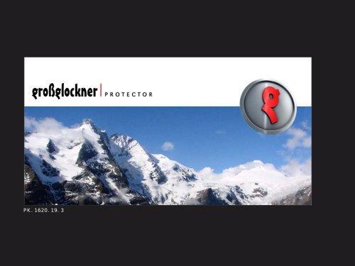 infoblatt grossglockner-system - Pale