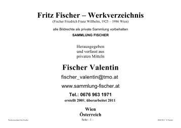 sammlung-fischer.at Fritz Fischer - Gemälde: Leupold Loewenthal