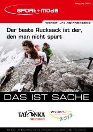 Wander- und Alpinrucksäcke - Sport + Mode