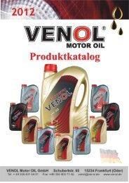 Katalog Produkte Venol GmbH
