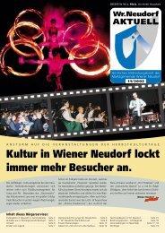 Kultur in Wiener Neudorf lockt immer mehr ... - RiSKommunal