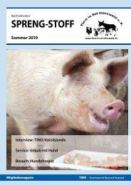 TINO Heft 1-10 BOS KW29-10DRUCK - Tiere in Not Odenwald eV