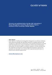 Internationalizing for European Rail Freight Growth - Oliver Wyman