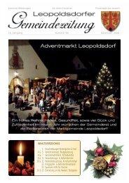 706 54 44/DW 23 - Marktgemeinde Leopoldsdorf