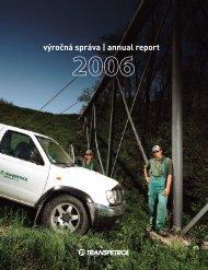 Výročná správa 2006 - Transpetrol