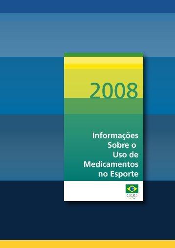 Informações Sobre o Uso de Medicamentos no Esporte - Apoio ao ...