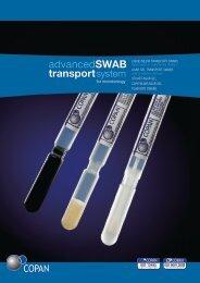 advancedSWAB transportsystem - Copan Italia
