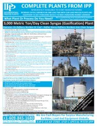 plants catalog - International Process Plants