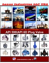 API 599|API 6D Plug Valve - all valves supplies