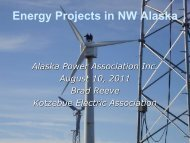 Energy Storage - Alaska Power Association