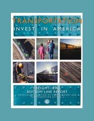 Freight Rail Bottom Line Report - AASHTO - AASHTO - Standing ...