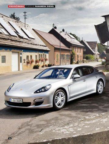 PROVKÖRNING PORSCHE PANAMERA DIESEL - Auto Motor & Sport